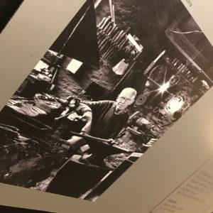 Panel informativo. Museo de la Cuchillería de Taramundi