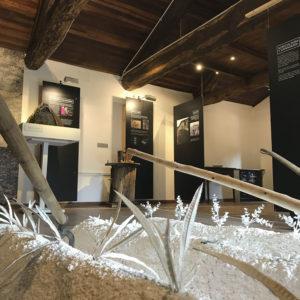 Forma de vida del cuchilleiro. Museo de la Cuchillería de Taramundi