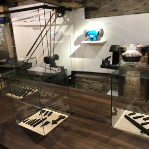Proceso de trabajo. Museo de la Cuchillería de Taramundi