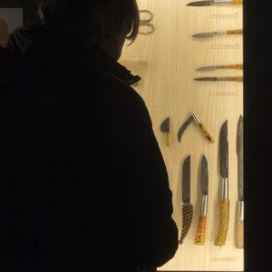 Colección de navajas. Museo de la Cuchillería de Taramundi
